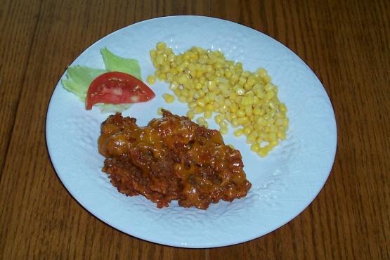 Cheesy Mexican Rice Skillet RecipeFood.com