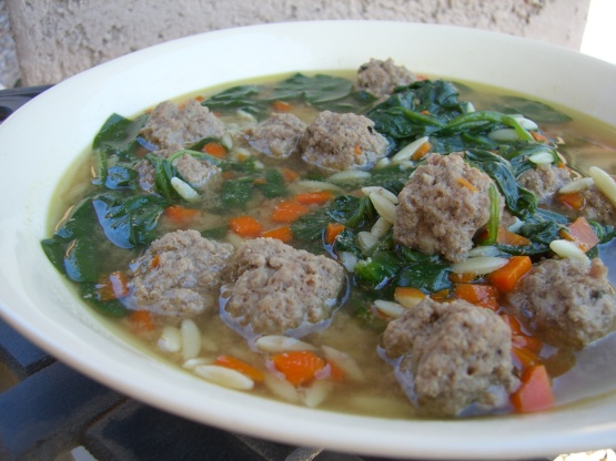 italian wedding soup recipe foodcom