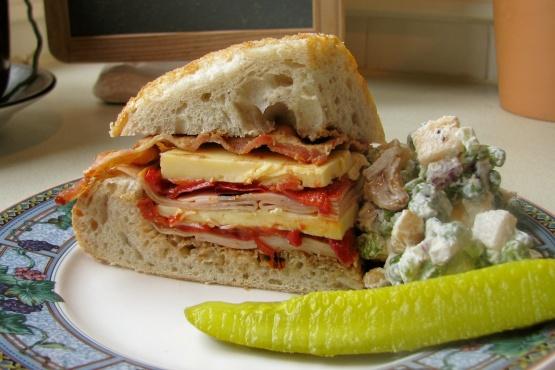 Turkey, Bacon And Havarti Sandwich Recipe - Food.com