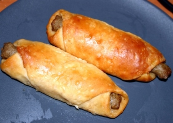 Sausage Link Roll Ups With Buttermilk Biscuits RecipeFood.com
