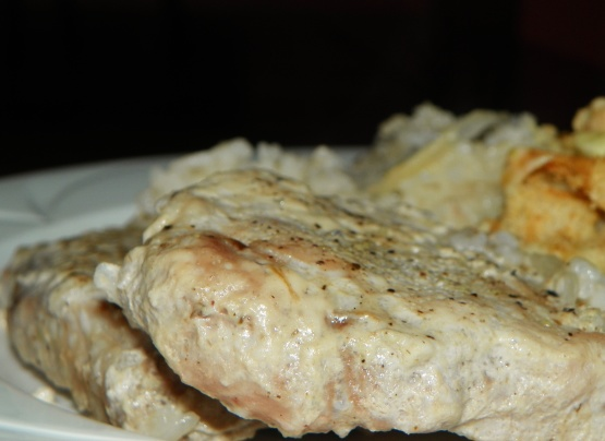 Pork Chops With Cream Of Mushroom Soup In Oven With Rice