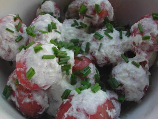 New Potatoes With Fresh Horseradish Sauce Vegan) Recipe - Food.com