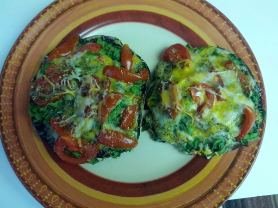 Portobello Mushroom Pizzettas Recipes — Dishmaps