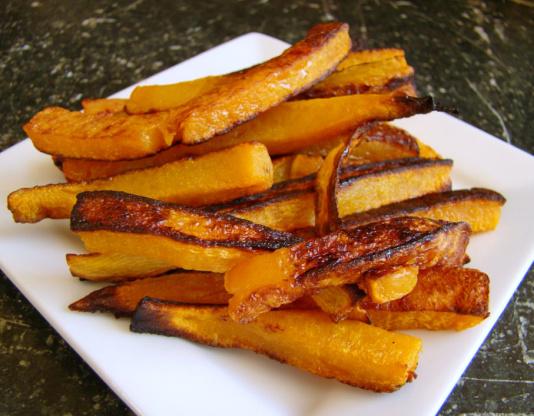 Butternut Squash Fries Recipe - Low-cholesterol.Genius Kitchen