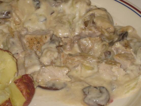 Pork Chops Smothered In Cream Of Mushroom Recipe Genius