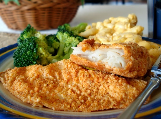 Baked Parmesan Fish Recipe Genius Kitchen