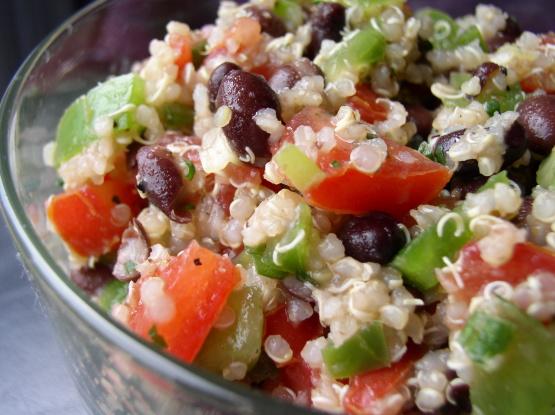 Quinoa black bean salad recipe low cholesterolnius kitchen forumfinder Choice Image