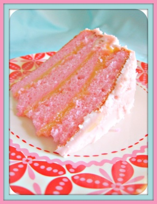 Strawberry Champagne Cake From Scratch