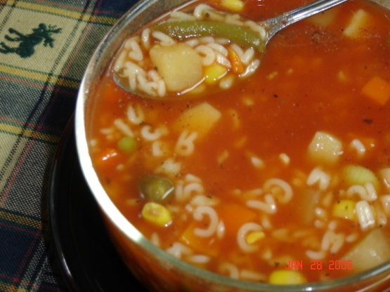 Easy Alphabet Vegetable Soup Recipe - Food.com