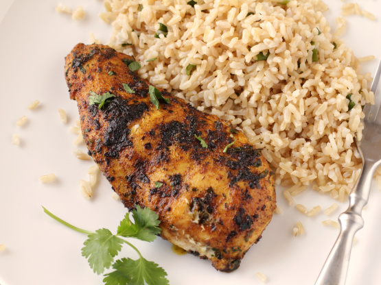 Moroccan spiced grilled chicken breasts recipe - Food for ...