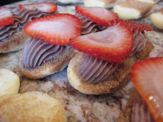 Mini Tiramisu Eclairs Recipe — Dishmaps