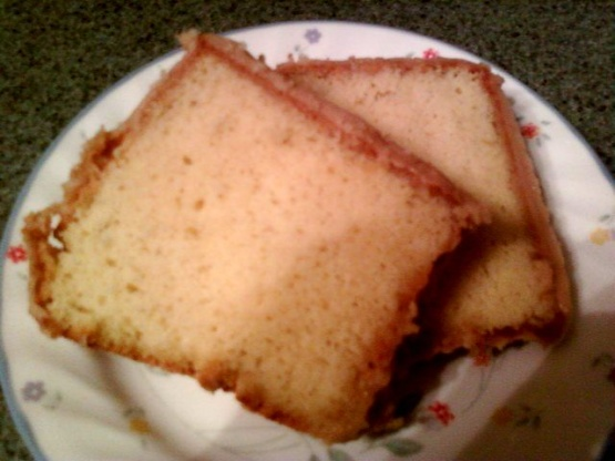 how to make a buttermilk pound cake