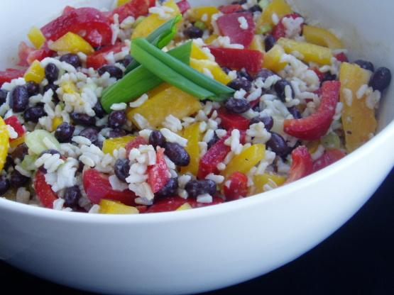 Caribbean Salads Ready To Go: Caribbean Rice And Black Bean Salad Recipe