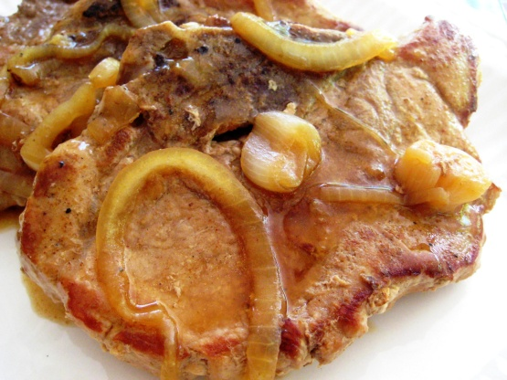 Southern smothered pork chops recipe soulnius kitchen forumfinder Gallery