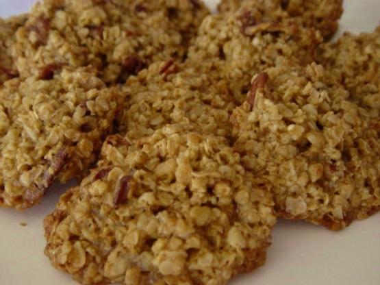 Oatmeal-Pecan Lace Cookies Recipe - Baking.Genius Kitchen
