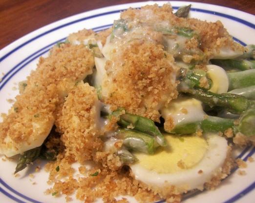 Creamy Fresh Asparagus Casserole Recipe Genius Kitchen