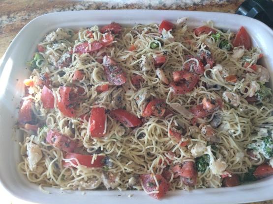 Olive Garden Chicken Caprese Recipe