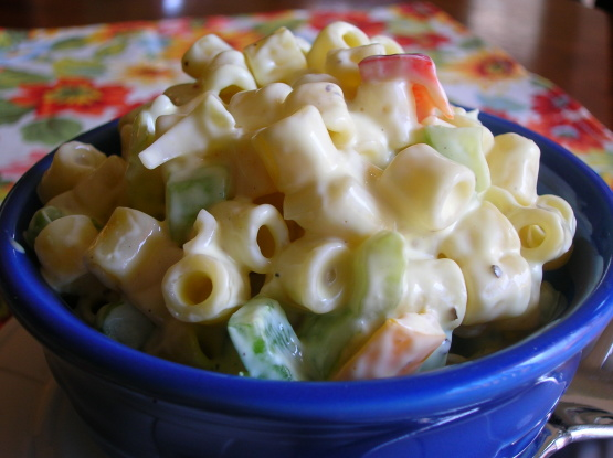 easy elbow macaroni salad recipe