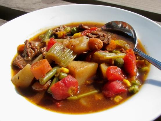 Genius Kitchen Beef Vegetable Soup