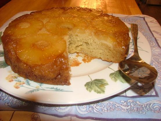 Decadent Pineapple Rum Upside-Down Cake Recipe - Food.com
