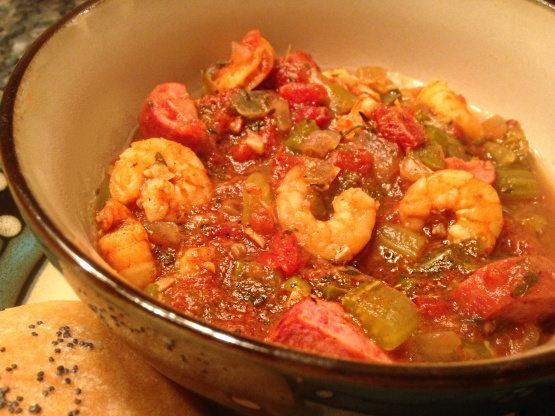 Jambalaya Recipe Crock pot jambalaya recipe - food.com
