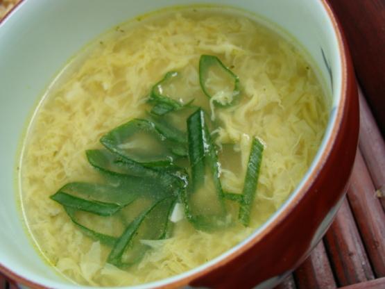 Easy Egg Drop Soup RecipeFood.com