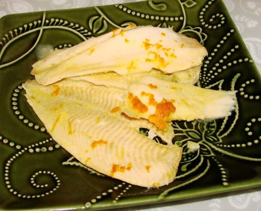 Baked fish with orange sauce recipe genius kitchen for Baked fish recipe with sauce