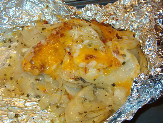 Three-Cheese Potatoes Recipe - Food.com