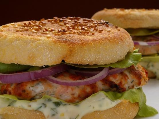 Salmon Burgers With Dill Tartar Sauce Recipes — Dishmaps