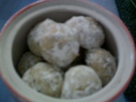 I Love Danish Wedding Cookies Recipe