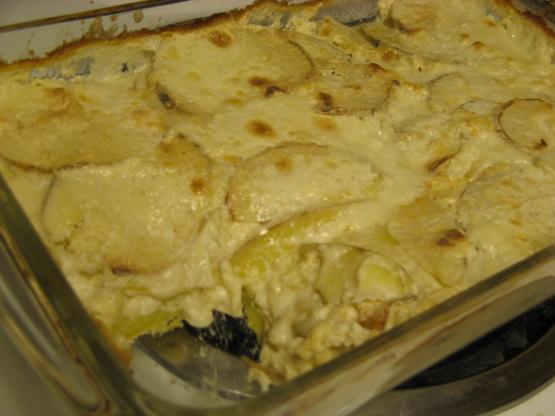 Potato Gratin With Goat Cheese And Garlic Recipes — Dishmaps