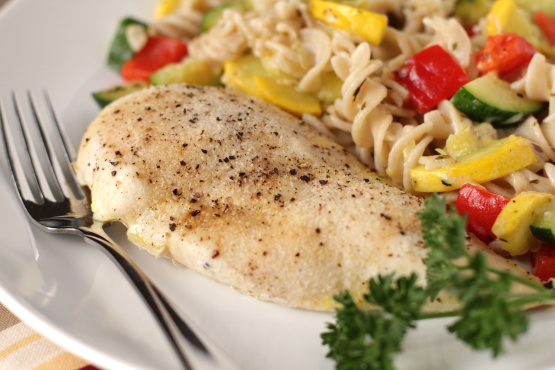 Easy Healthy Baked Chicken Breasts Recipe