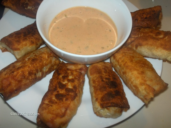 Reuben Egg Roll Wraps With Dipping Sauce Recipe - Food.com