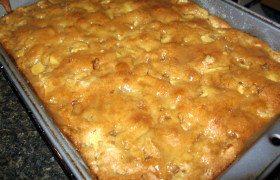 Apple Cake Made With Cake Mix And Apple Pie Filling