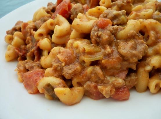 Bacon Cheeseburger Macaroni RecipeFood.com