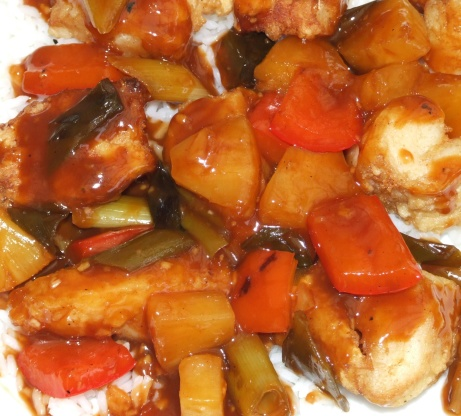 sweet and sour chicken recipe videojug