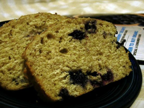 Blueberry-Cornmeal Loaf Cake Recipe - Genius Kitchen