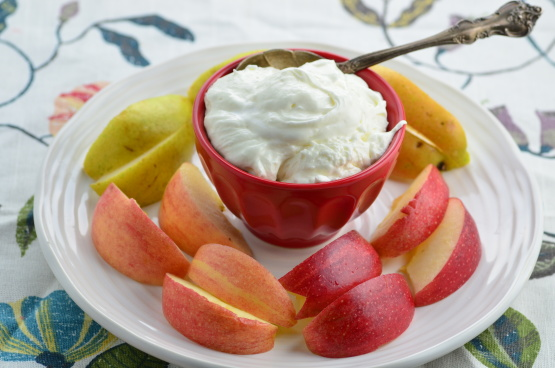 fruits with pits marshmallow fruit dip