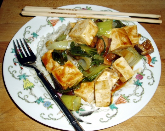 Steamed Vegetables With Tofu And Oyster Flavored Sauce