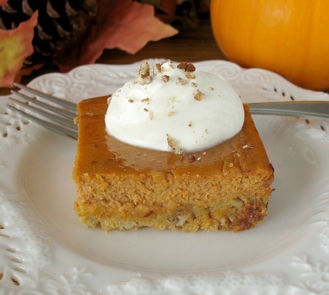 Pumpkin Dessert No Cake Mix