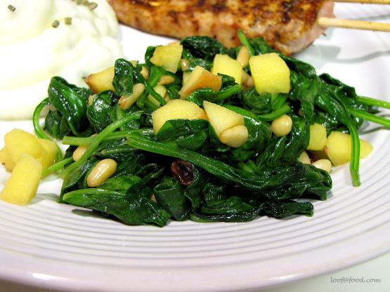 Espinaca A La Catalan Catalan-Style Spinach) Recipe - Food.com