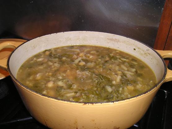 Portuguese Spinach And Chickpea Soup Sopa De Grao) Recipe - Food.com