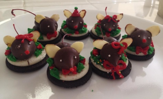 Christmas mouse cookie recipe