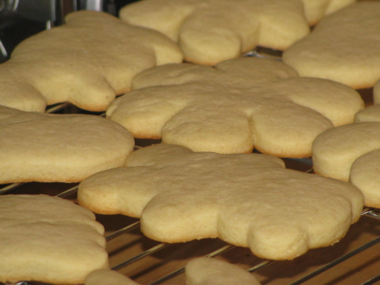 Sour Cream Cut Out Cookies Recipe - Baking.Genius Kitchen