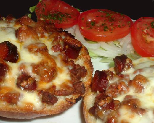 Pizza Burgers Recipe Genius Kitchen