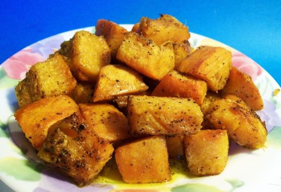 Spicy Roast Pumpkin Recipe Low Cholesterol Genius Kitchen