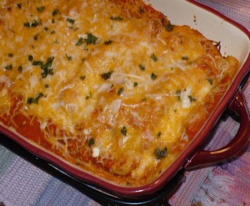 Enchiladas Mexicanas De Pollo Enchiladas Rojas Recip...