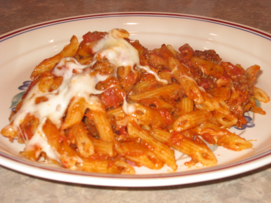 Good food recipes » Ground beef recipes pasta sauce