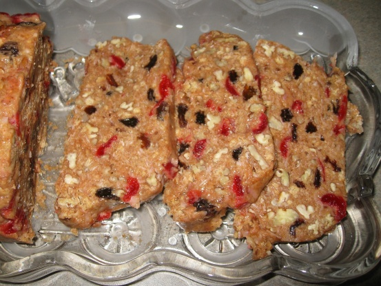 Fruit Cake Muffins Recipe