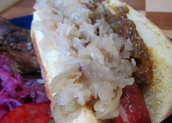 Sauerkraut with apple and caraway recipe genius kitchen - Appel krat ...
